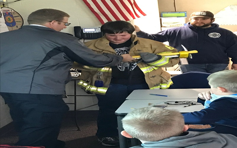 Mr. Ettinger's Class Learning Fire Safety