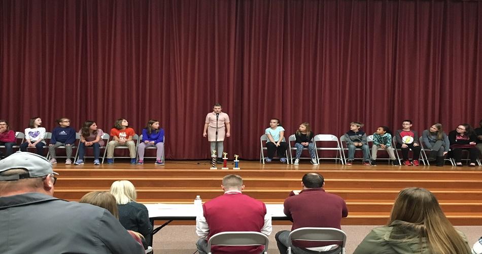 SAIS 2018 Grade 5 Spelling Bee
