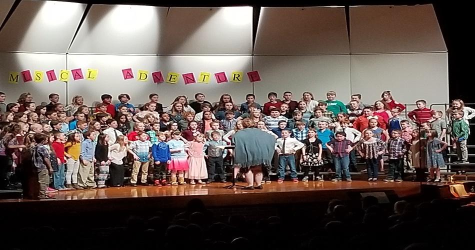 SAIS Grade 3 Chorus Concert