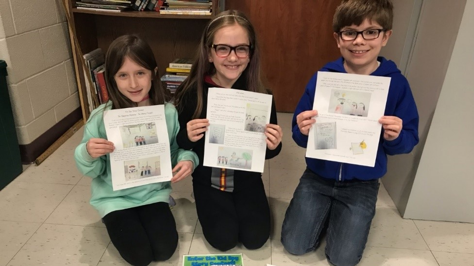 Third Graders Win Grand Prize in Scholastic Books Kid Spy writing Contest