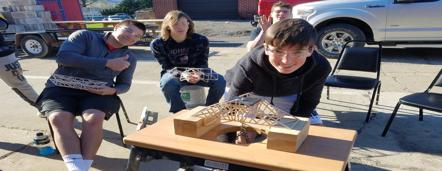 Design Engineering Bridge Building Contest Winner – Josh Pontius