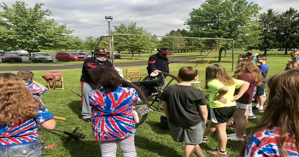 5th Grade Civil War Encampment