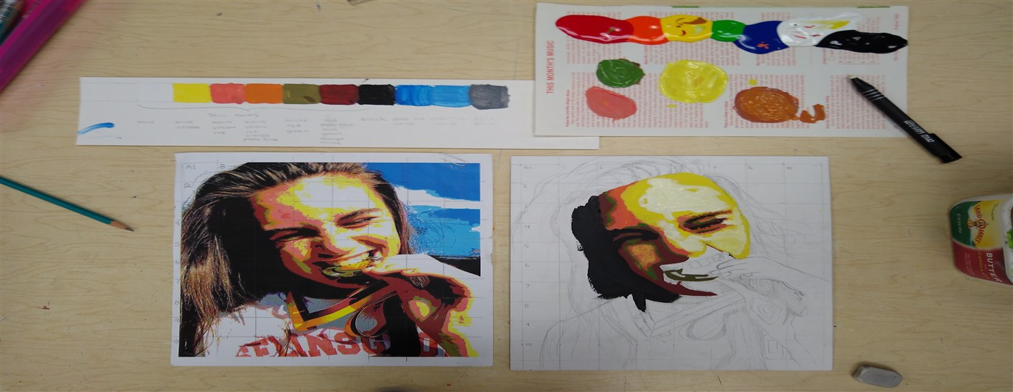 Drawing & Painting I Example