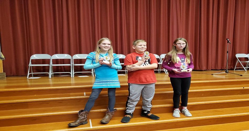 IS Gr 5 Spelling Bee Winners