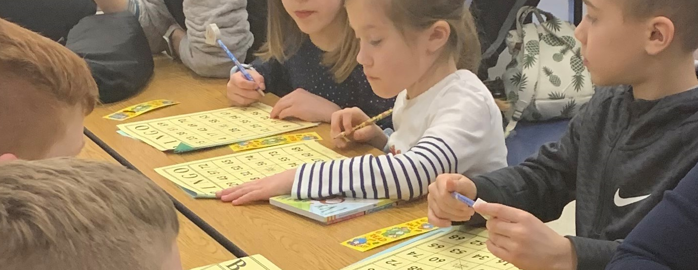 K-5 Book Bingo