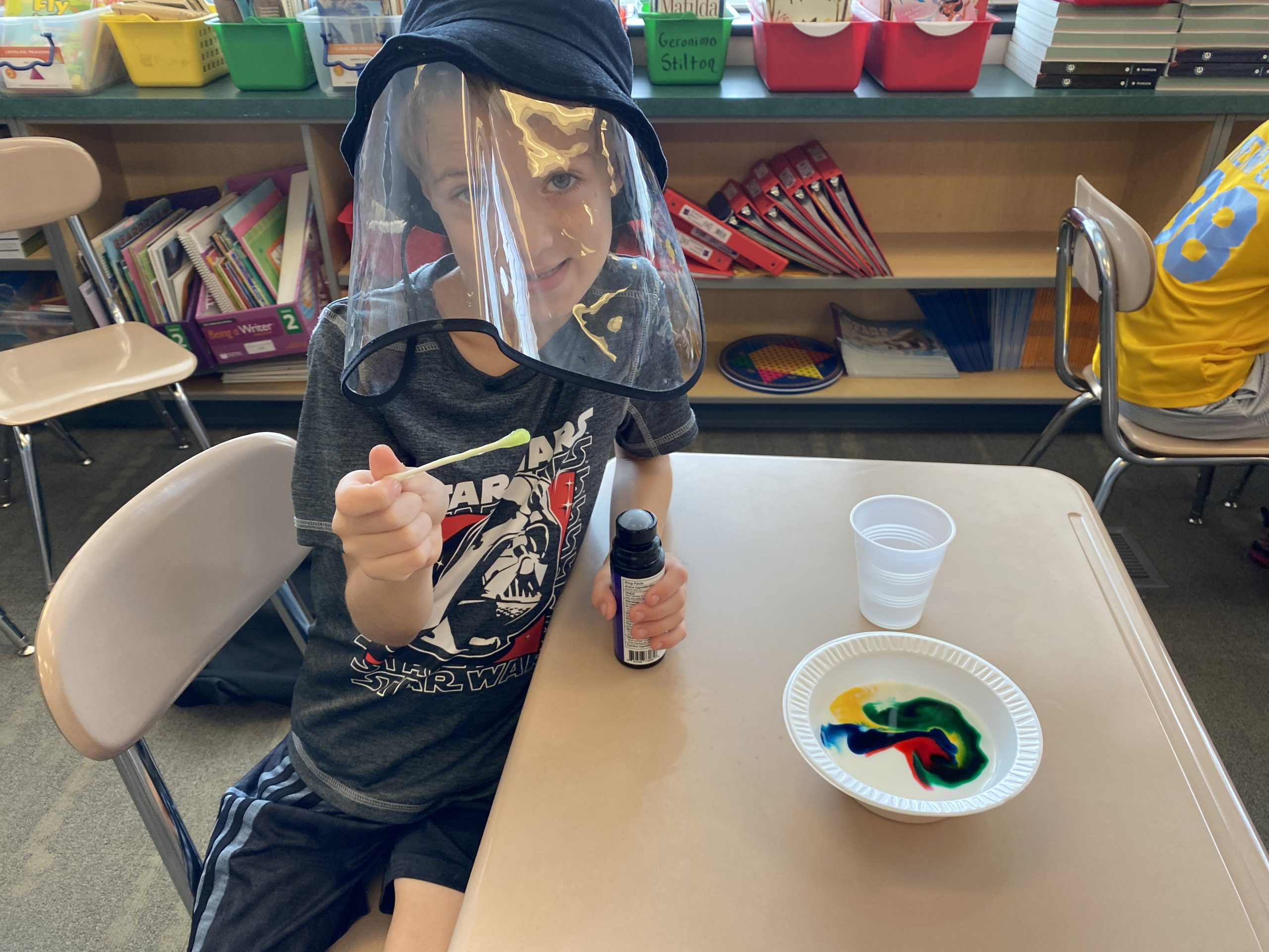 Chemical and physical reactions experiment