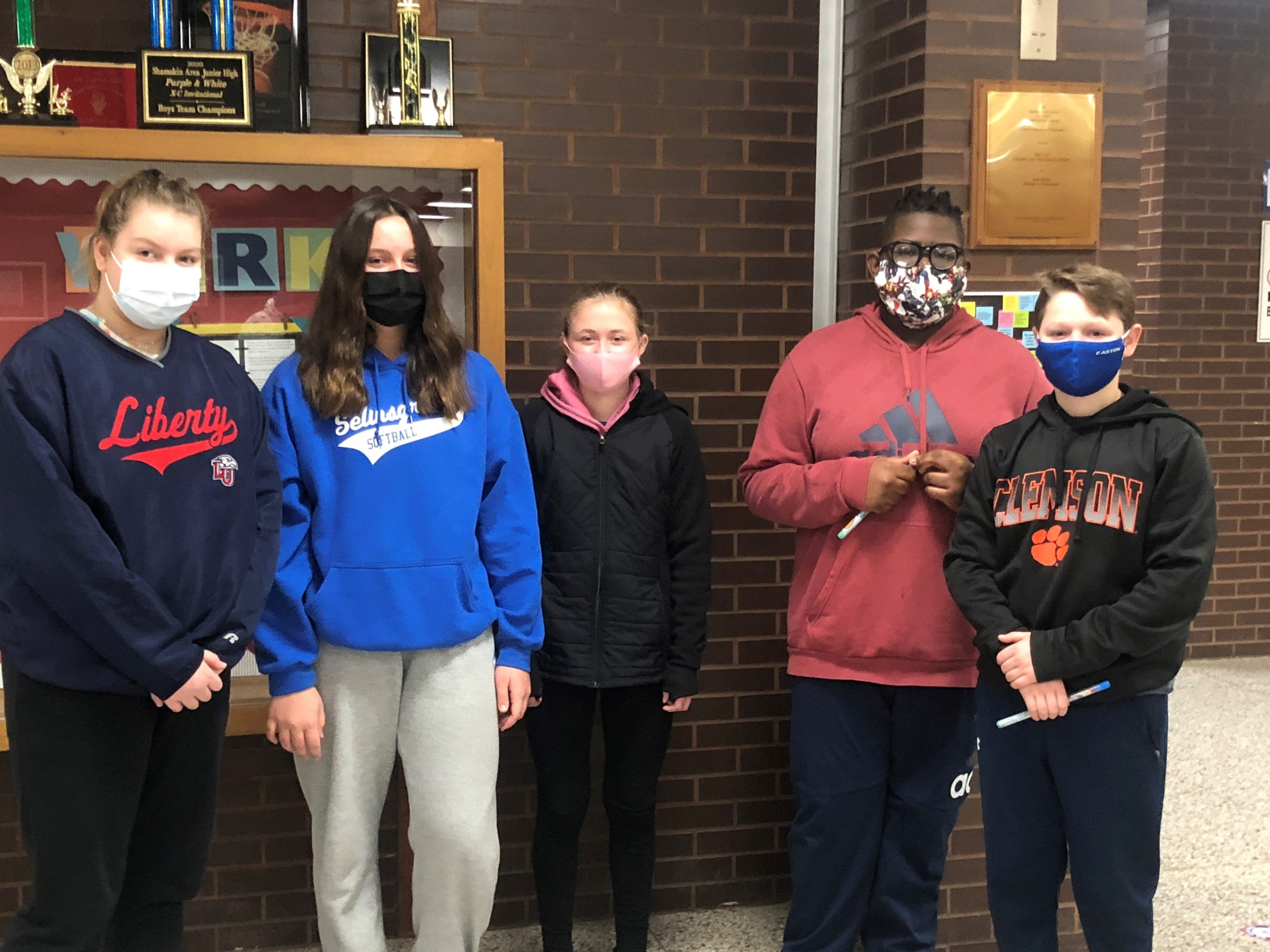 January 7th Grade Students of the Month