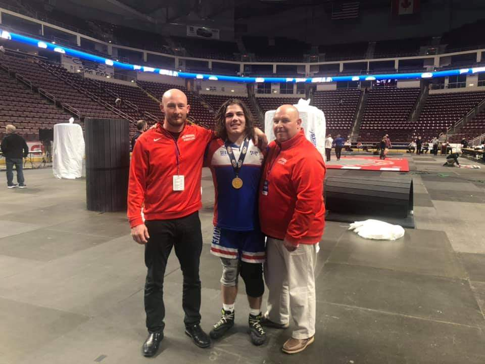 Congrats to Nate Schon – PIAA State Wrestling Champion!