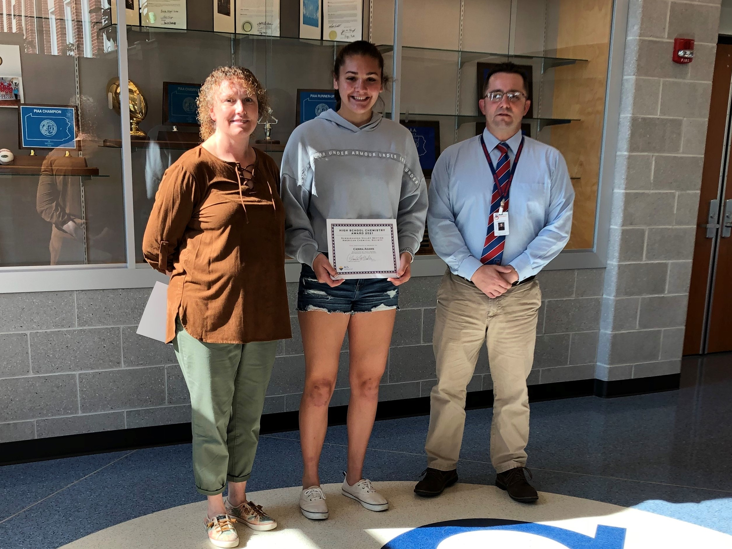 Cierra Adams – American Chemical Society Student of Excellence