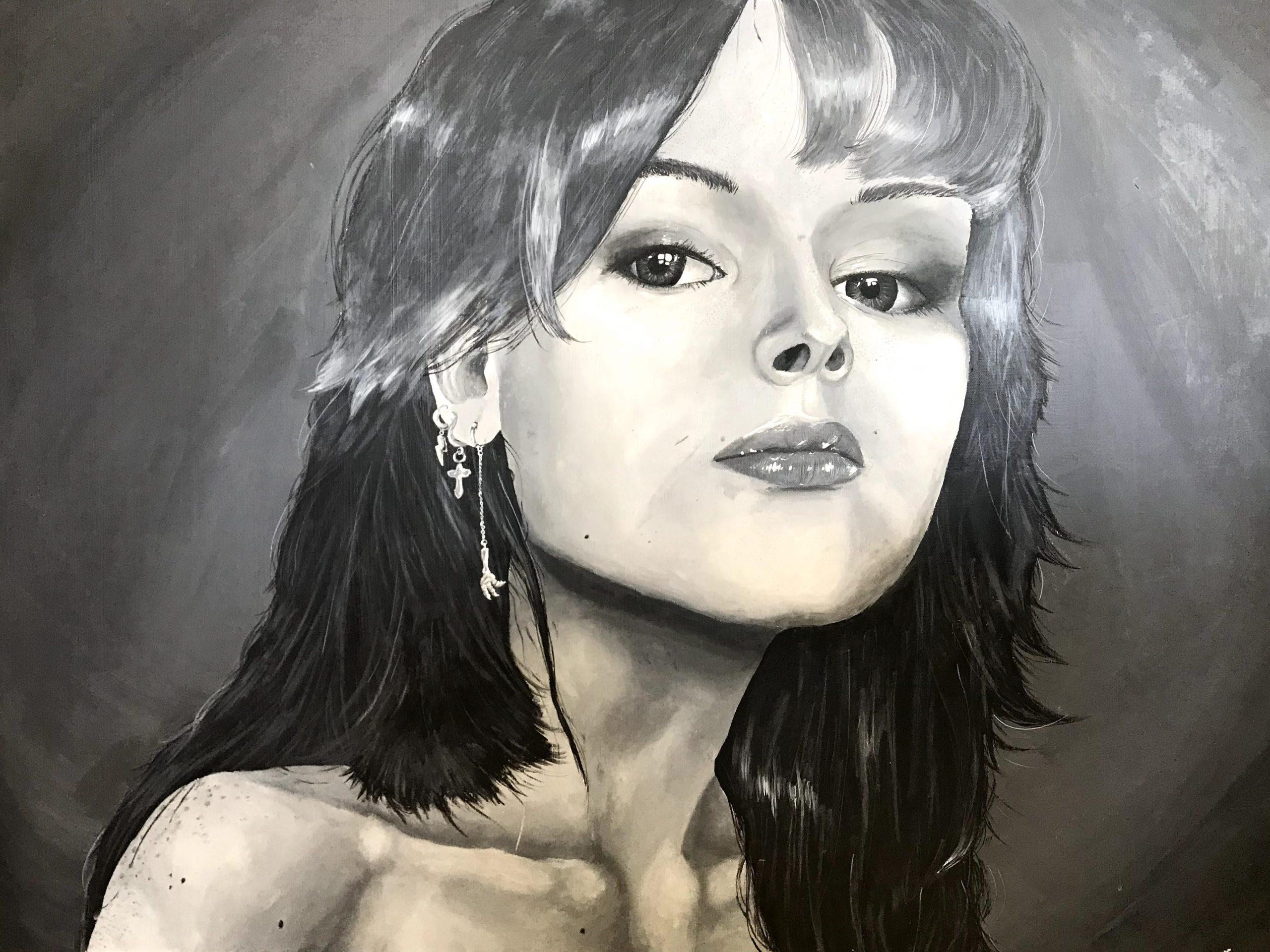 Sydney Bower Self Portrait