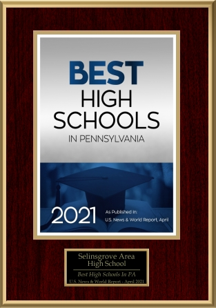 U.S. News & World Report – Selinsgrove is a BEST High School for 2021