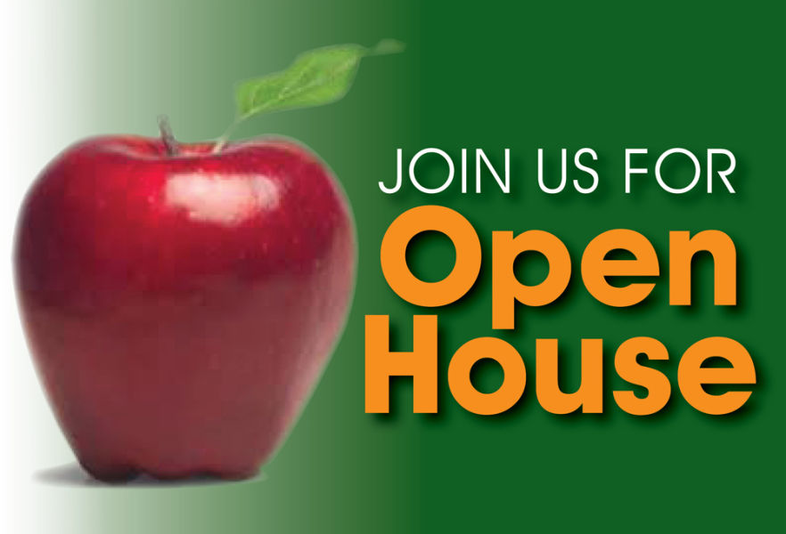 Open House is Thursday, August 19th