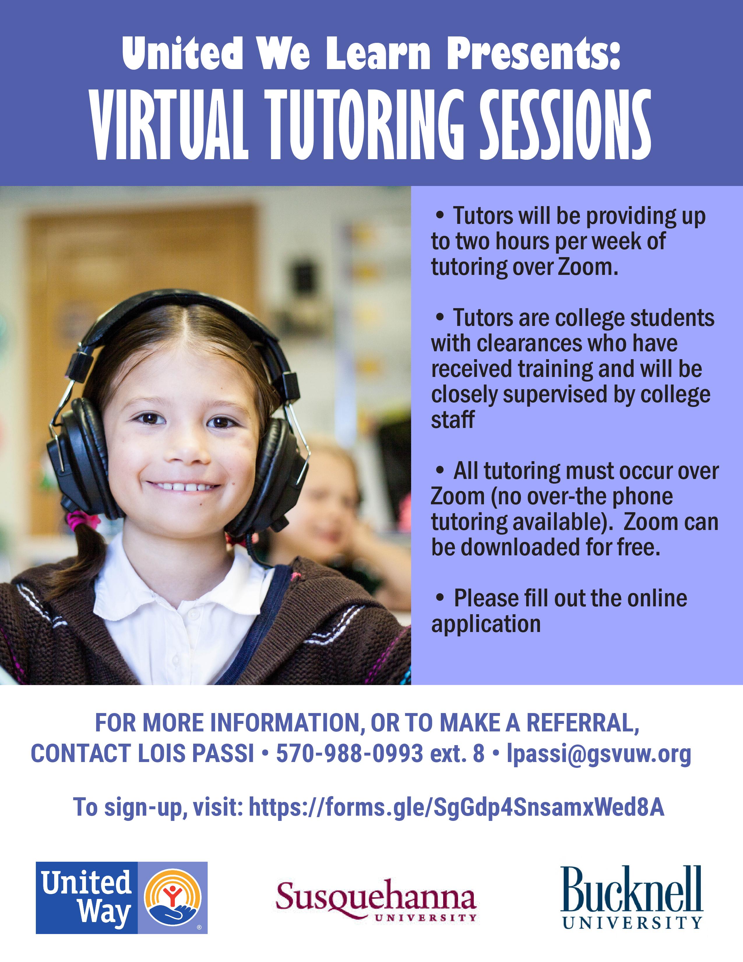 Virtual Tutoring Sessions