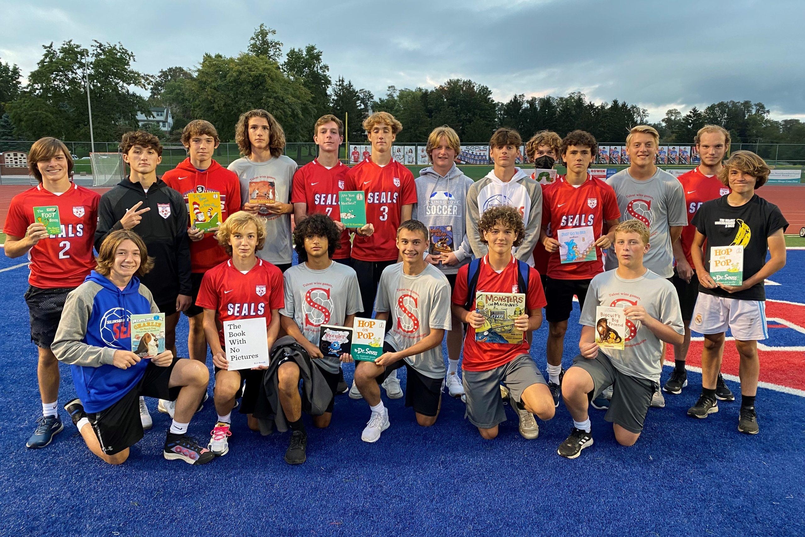 Literacy Under The Lights – Boys Soccer Team