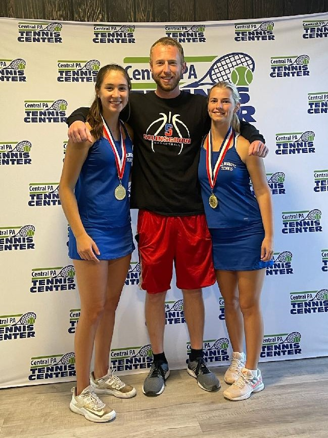 Girls Tennis – District IV AA Double Champions
